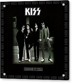 Kiss - Dressed To Kill Acrylic Print by Epic Rights