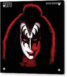 Kiss - Gene Simmons Acrylic Print by Epic Rights