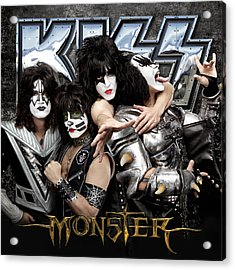 Kiss - Monster (2012) Acrylic Print by Epic Rights