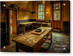 Kitchen Quarters  Acrylic Print by Adrian Evans