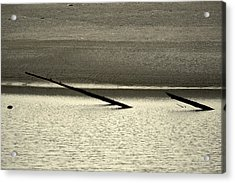 Klamath River Mouth - A Bliss Place Acrylic Print by Christine Till