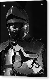 Knight 7 Acrylic Print by Bob Christopher