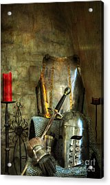 Knight - A Warriors Tribute  Acrylic Print by Paul Ward