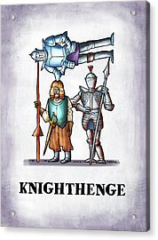 Knighthenge Acrylic Print by Mark Armstrong