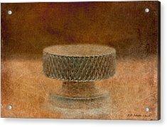 Knob 35 Acrylic Print by WB Johnston