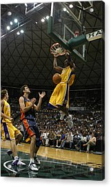 Kobe Bryant Dunk Acrylic Print by Mountain Dreams