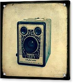 Kodak Brownie Acrylic Print by Sonja Quintero