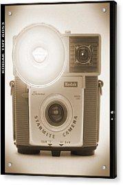 Kodak Brownie Starmite Camera Acrylic Print by Mike McGlothlen