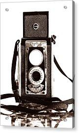 Kodak Duaflex Iv Camera Acrylic Print by Jon Woodhams