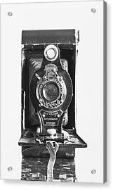 Kodak No. 2 Folding Autographic Brownie Camera Acrylic Print by Jon Woodhams
