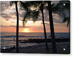 Kona Sunset Acrylic Print by Brian Harig