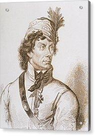 Kosciuszko, Tadeusz (1746-1817 Acrylic Print by Prisma Archivo