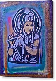 Krishna 2 Acrylic Print by Tony B Conscious
