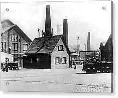 Krupp Works Founded Here Acrylic Print by Underwood Archives