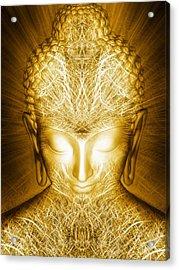 Kundalini Awakening Acrylic Print by Jalai Lama