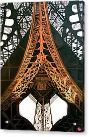 La Dame De Fer Acrylic Print by Tom Roderick