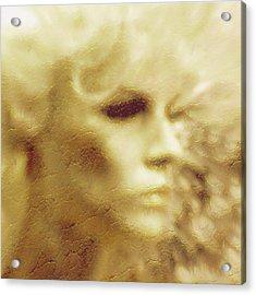 La Donna Della Pietra Acrylic Print by Susan Elizabeth Dalton