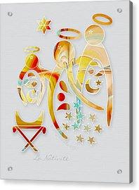 La Nativite Acrylic Print by Gayle Odsather