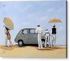 La Seicento Acrylic Print by Guido Borelli