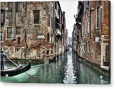 La Veste In Venice Acrylic Print by Marion Galt