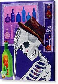 La Vida No Vale Nada Dos Acrylic Print by Evangelina Portillo