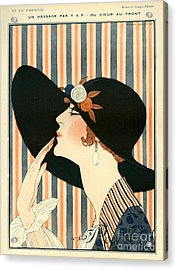 La Vie Parisienne 1918 1910s France G Acrylic Print by The Advertising Archives