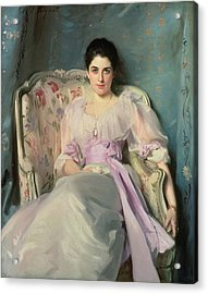 Lady Agnew Of Lochnaw, C.1892-93 Oil On Canvas Acrylic Print by John Singer Sargent