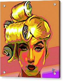 Lady Gaga Acrylic Print by  Fli Art