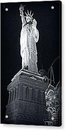 Lady Liberty Acrylic Print by Kay Novy