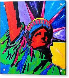 Lady Liberty Acrylic Print by Patti Schermerhorn