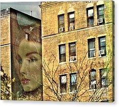Lady Of The House Acrylic Print by Sarah Loft