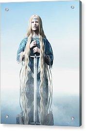 Lady Of The Lake Acrylic Print by Melissa Krauss