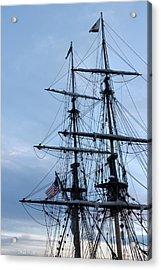 Lady Washington's Masts Acrylic Print by Heidi Smith