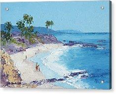 Laguna Beach Acrylic Print by Jan Matson