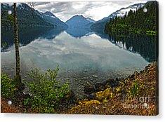 Lake Crescent - Washington - 04 Acrylic Print by Gregory Dyer