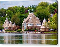 Lake Harriet Bandshell Acrylic Print by Near and Far Photography