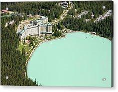 Lake Louise Acrylic Print by Ashley Cooper