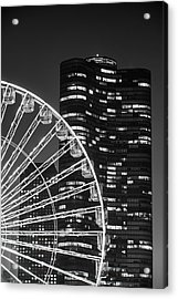 Lake Point Tower Acrylic Print by Sebastian Musial