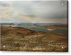 Lake Powell  Acrylic Print by Joseph G Holland