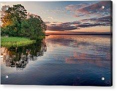 Lake Sunrise Acrylic Print by EXparte SE
