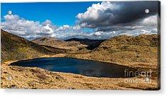 Lake Teyrn Snowdonia Acrylic Print by Adrian Evans