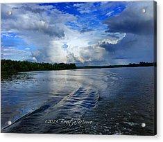 Lake Tuscaloosa Acrylic Print by Bonita Moore