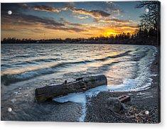 Lake Yankton Minnesota Acrylic Print by Aaron J Groen