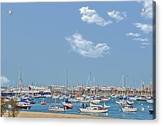Lakefront Chicago Acrylic Print by Christine Till