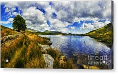 Lakeside Memories Acrylic Print by Ian Mitchell