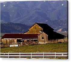 Lakeville Barn Acrylic Print by Bill Gallagher