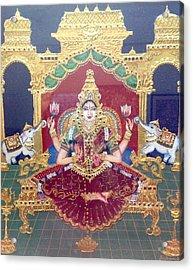 Lakshmi Acrylic Print by Jayashree