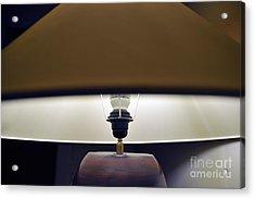 Lampshade Acrylic Print by Sami Sarkis