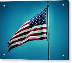 Land Of The Free Acrylic Print by Dan Sproul