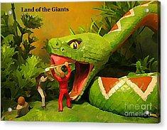 Land Of The Giants Acrylic Print by John Malone